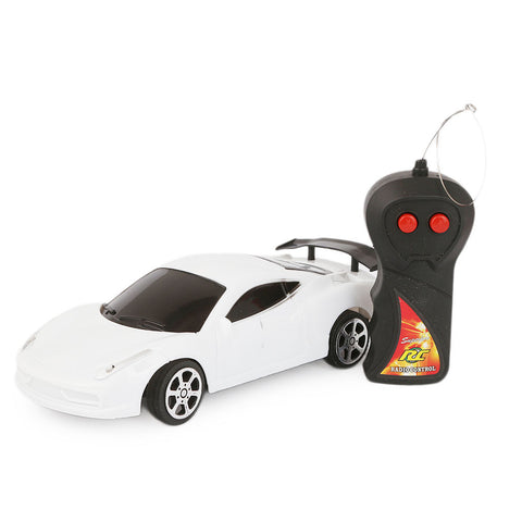Remote Control Car - White - test-store-for-chase-value