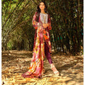 InTo Eternity Embroidered Lawn 3 Piece Un-Stitched Suit - 4575 - test-store-for-chase-value