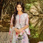 InTo Eternity Embroidered Lawn 3 Piece Un-Stitched Suit - 4577 - test-store-for-chase-value