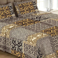 Printed Double Bed Sheet - Multi - test-store-for-chase-value