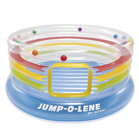 Intex Jump O Lene Transparent Ring Bounce - test-store-for-chase-value