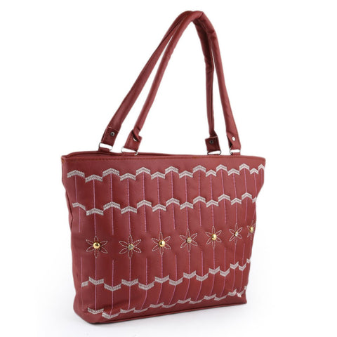 Women's Handbag (1539) - Maroon - test-store-for-chase-value