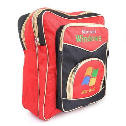 Kids School Bag - Red - test-store-for-chase-value