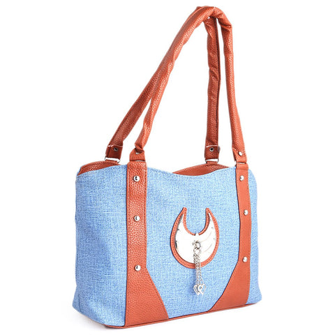 Women's Handbag (6747) - Blue - test-store-for-chase-value