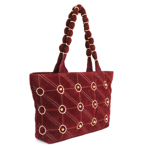 Women's Handbag (1761) - Maroon - test-store-for-chase-value