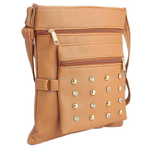 Women's Shoulder Bag (7555) - Brown - test-store-for-chase-value