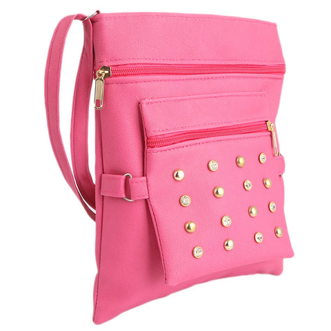 Women's Shoulder Bag (7555) - Dark Pink - test-store-for-chase-value
