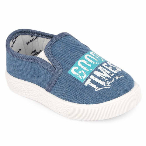 Boys Casual Shoes (2-102) - Light Blue