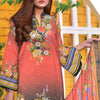 Saqaffat Digital Printed Dhanak 3 Pcs Un-Stitched Suit - 02
