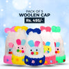 Kids Woolen Cap Pack of 5 - Multi