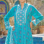 Daman Printed Lawn 3 Piece Un-Stitched Suit Vol 2 - 17 B