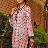 VS Signature Printed Lawn 3 Piece Un-Stitched Suit Vol 1 - 208 A