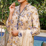 VS Signature Printed Lawn 3 Piece Un-Stitched Suit Vol 1 - 211 B