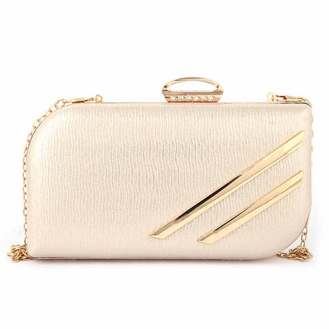 Women's Fancy Clutch (2019) - Champagne