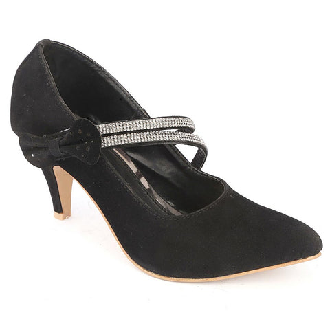Women's Fancy Heel (201) - Black