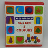 Kids Shapes & Colouring Book - Red