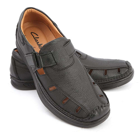 Men's Roman Sandal (2021) - Black