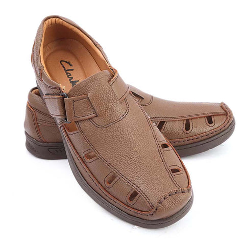 Men's Roman Sandal (2021) - Brown