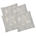 Jacquard Cushion Covers 4 Piece Set - Multi