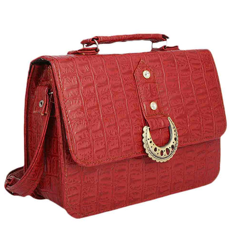 Women's Shoulder Bag (2275) - Maroon