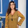 Anchal Digital Printed Masoori Un-Stitched Kurti - 02