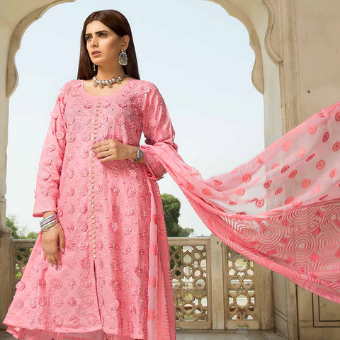 Shan-E-Mughal Embroidered Lawn Suit - 2 - test-store-for-chase-value