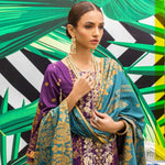 Signature Icon Printed Embroidered Lawn 3 Piece Un-Stitched Suit - 2 A