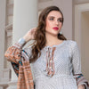 Monsoon Printed Lawn 3 Piece Un-Stitched Suit Vol 2 - 2 B