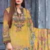 Saqaffat Digital Printed Dhanak 3 Pcs Un-Stitched Suit - 03