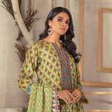 Rangreza Printed Lawn 3 Piece Un-Stitched Suit Vol 1 - 03