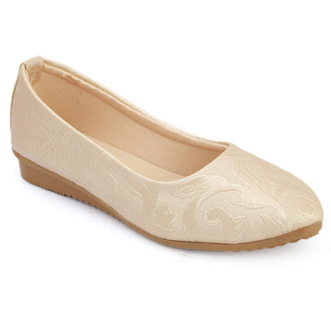 Girls Fancy Pumps  (309) - Fawn