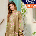 Three Star Printed Lawn Suit Vol 6 - 7 B