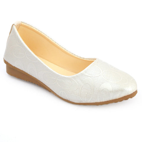 Girls Fancy Pumps  (315) - Fawn