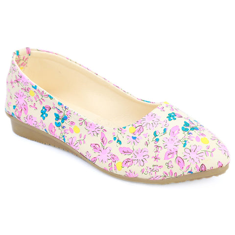 Girls Fancy Pumps  (316) - Fawn