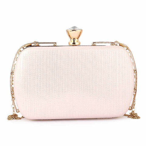 Women's Fancy Clutch (3212) - Pink
