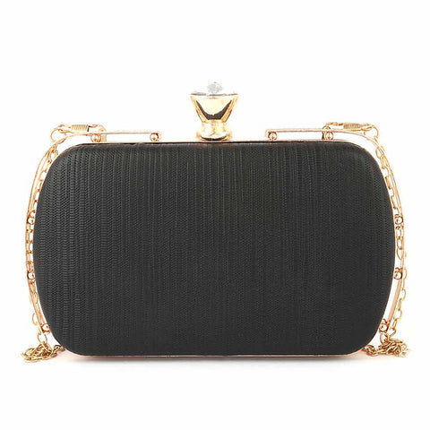 Women's Fancy Clutch (3212) - Black