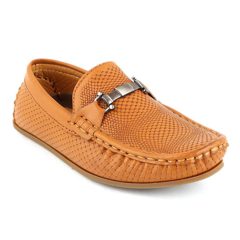 Eminent Loafer For Boys (3568) - Camel - test-store-for-chase-value
