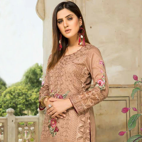 Shan-E-Mughal Embroidered Lawn Suit - 3 - test-store-for-chase-value