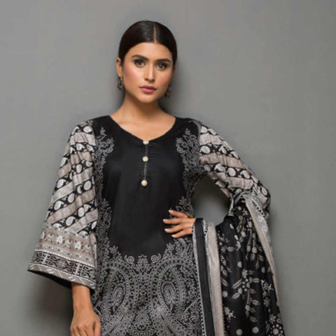 Kalyan Printed Lawn Suit Vol 2 - 3 - test-store-for-chase-value