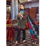 Monsoon Printed Lawn 3 Piece Un-Stitched Suit Vol 1 - 3 A