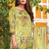 Saqaffat Digital Printed Dhanak 3 Pcs Un-Stitched Suit - 04