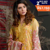 Three Star Printed Lawn 3 Piece Un-Stitched Suit Vol 1 - 2 A