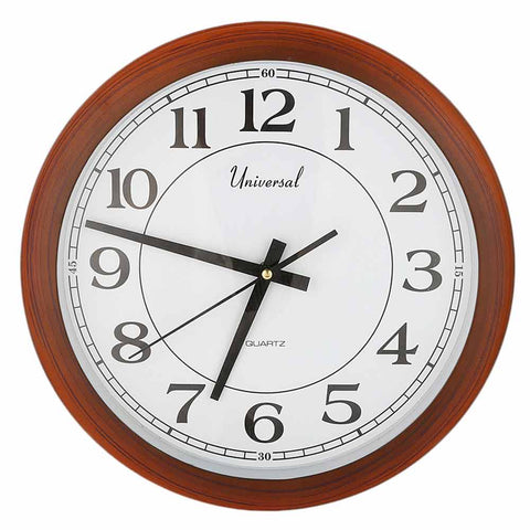 Analog Wall Clock 401 - White