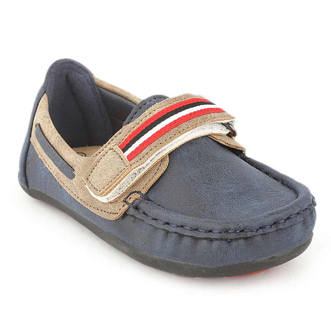 Eminent Boys Loafer Shoes - Navy Blue - test-store-for-chase-value