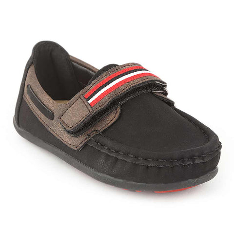 Eminent Boys Loafer Shoes - Black - test-store-for-chase-value