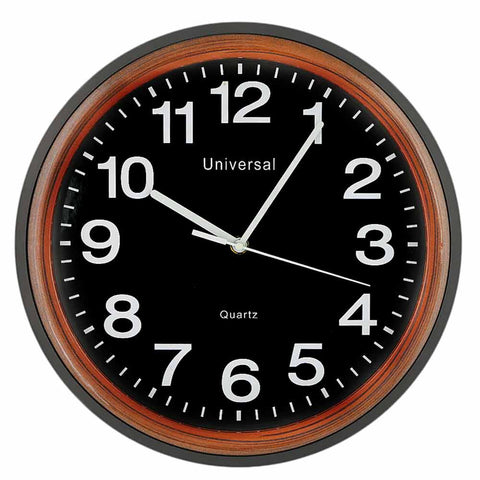 Analog Wall Clock 412 - Black