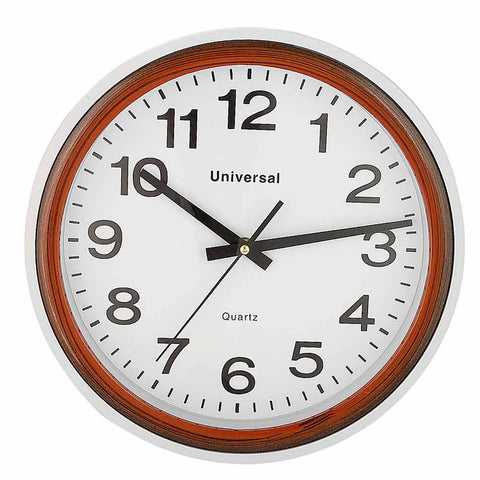 Analog Wall Clock 412 - White