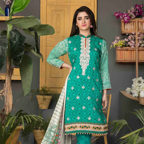 Sienna Embroidered Viscose 3 Pieces Un-Stitched Suit - 4314 B