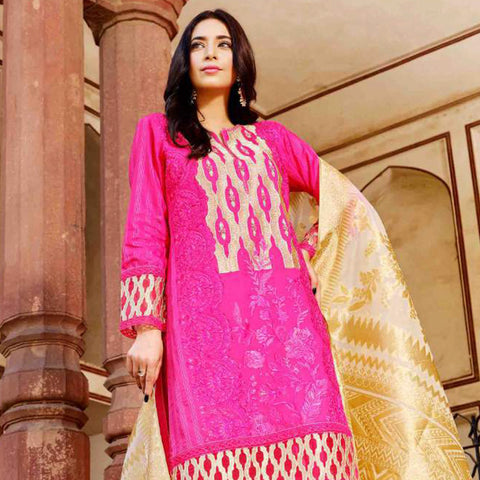Garden Imperial Embroidered Lawn Suit - 4568 - test-store-for-chase-value