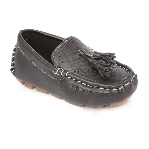 Boys Loafers Shoes - Black